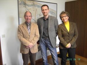 Inge, Paul und Dr.Schönauer
